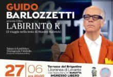 """Guido Barlozzetti a Barletta per presentare il suo libro """"Labirinto K"""""""