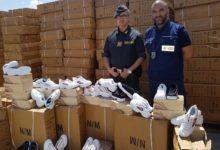 Porto Bari, finanza: sequestrate oltre 6 mila paia di scarpe contraffatte