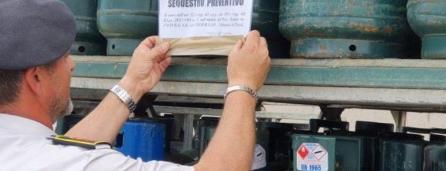 """Operazione """"Fuga di gas"""": Ritirate dal mercato oltre 2600 bombole di Gpl contraffatte e pericolose per i consumatori"""