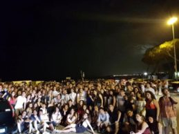 Trani – Notte prima degli esami, studenti riuniti al Monastero di Colonna