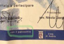 """Convegno su Don Riccardo Zingaro, Griner e Colasuonno: """"Giorgino usa il logo del Comune di Andria senza autorizzazione?"""""""