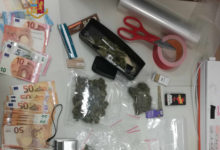 Barletta – Polizia arresta in stazione un giovane per traffico e detenzione di droga