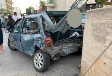 Andria – Maxi incidente in Via delle Querce: coinvolte 4 auto. FOTO