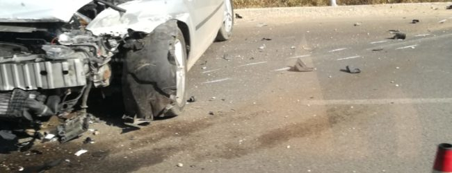 Incidente sull'Andria-Bisceglie: auto contro guard-rail