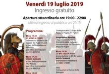 """BARLETTA – Apertura straordinaria serale del sito """"Canne della Battaglia"""": venerdì 19 luglio"""