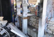 """Atto intimidatorio ai danni del locale """"Puerto Azul"""" sulla litoranea biscegliese. LE FOTO"""