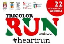Tricolor Run: sport e solidarietà ad Andria