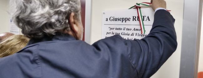 Trani – Inaugurata la risonanza magnetica dedicata a Giuseppe Ruta. VIDEO e FOTO