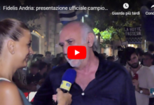 La Fidelis Andria infiamma la piazza: ieri la presentazione ufficiale. VIDEO e FOTO