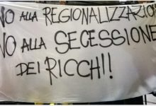 Barletta – Si costituisce il comitato contro l'autonomia differenziata. No alla secessione