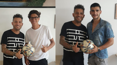 Due ex Allievi della NUOVA ANDRIA in Promozione con il Canosa Calcio