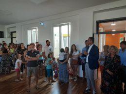 Trani – Il sindaco Bottaro inaugura il nuovo asilo di via Grecia. VIDEO e FOTO