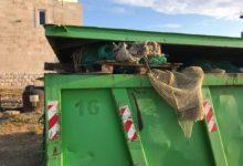 Raccolta plastica a mare, svuotato il primo cassone di rifiuti a Barletta. FOTO