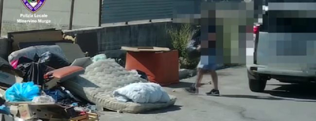 Minervino Murge – Conferimento non corretto dei rifiuti: sanzioni grazie a fototrappole. VIDEO