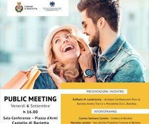 Barletta – Opportunità offerte dal DUC, oggi la presentazione