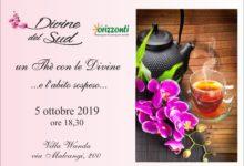 """TRANI –  """"Un tè con le Divine e.. l'abito sospeso.."""": sabato 5 ottobre"""