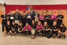 Calcio a 5 femminile: premiate in Consiglio le ragazze del Margherita campione d'Italia