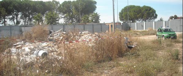 Barletta – Gestione non autorizzata di rifiuti. Una denuncia