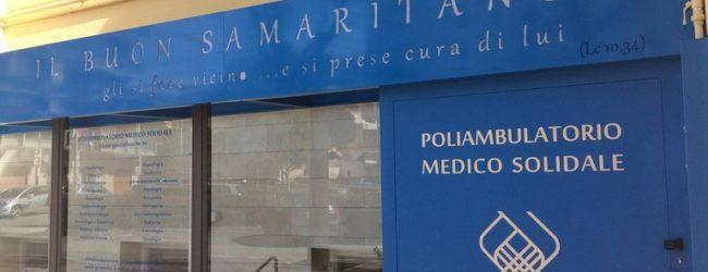 """Bisceglie – """"La salute è un diritto di tutti, proprio tutti"""": il punto sulle attività del Poliambulatorio Il buon Samaritano"""