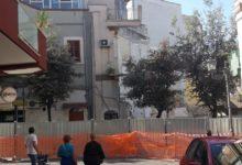 Andria – Un altro crollo alla palazzina di via Pisani. FOTO