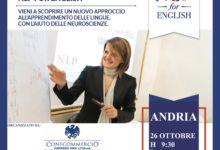 """""""NLP for English"""", ad Andria il metodo per imparare velocemente l'inglese"""