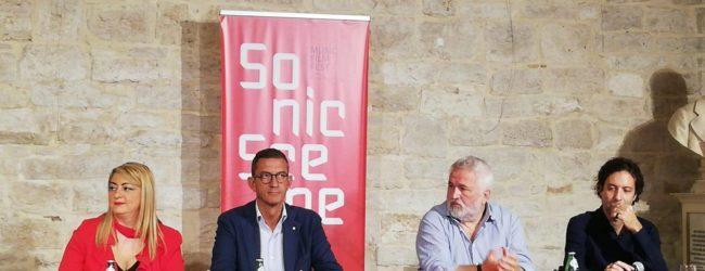 Trani – Presentato SONIC SCENE, il Festival internazionale del cinema a tema musicale. VIDEO e FOTO
