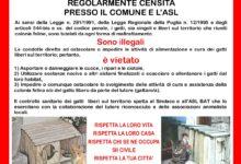 ENPA Barletta, due iniziative per coniugare il benessere degli animali con il senso civico