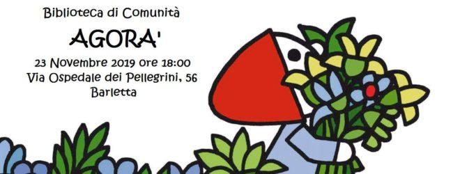"Barletta – Nasce ""Agorà"" la nuova biblioteca di comunità"