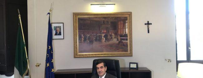 """Barletta – Il saluto del prefetto Sensi : """"È stato un periodo intenso"""""""