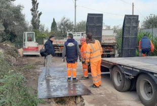 """Trani – Partiti i lavori di metanizzazione, Briguglio: """"un altro traguardo raggiunto"""""""