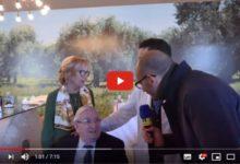 Andria – Lino Banfi presso l'azienda olivicola Biolevante