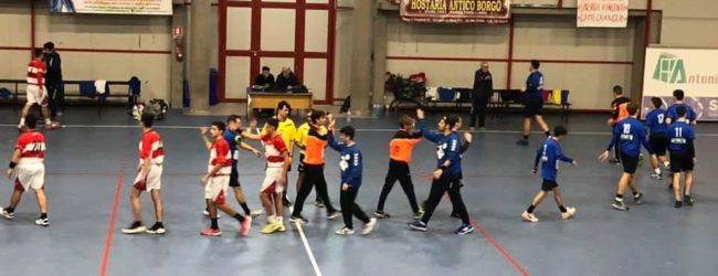 Handball – Derby per la vetta per le due società andriesi, a pari punti in testa alla classifica
