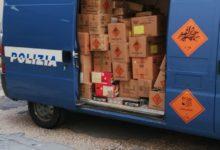 Bari – Polstrada: pregiudicato trasportava 145 kg di materiale esplodente