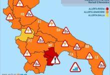 Puglia – Protezione civile: in arrivo forti temporali