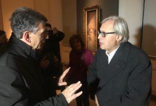 Barletta – Mostra Boldini a Palazzo Della Marra, la visita di Vittorio Sgarbi