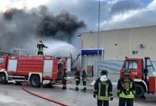 Barletta – Dalena Ecologica: spento l'incendio, scattano le analisi