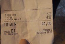 """Barletta – """"Trucco dello scontrino"""" in un pub in centro: presentano il """"preconto"""" e non la ricevuta fiscale"""
