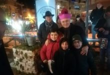 Andria – La meraviglia del presepe del quartiere Maraldo: ieri la benedizione del Vescovo. FOTO