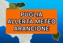 Puglia – Allerta meteo Arancione per venti forti di burrasca