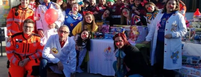 """Trani – """"Il Treno del Sorriso"""" organizza una raccolta giochi per l'oncologia pediatria di Bari"""