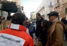 Trani in porsche: corso Vittorio Emanuele indossa l'abito della festa. VIDEO e FOTO