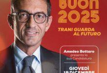 Trani – Amedeo Bottaro ufficializza la sua ricandidatura a sindaco