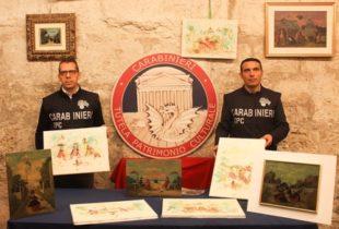Puglia – Traffico di falsi dell'artista Nino Caffè: 23 a giudizio