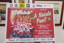 """Trani – Il 23 dicembre iniziativa """"A Natale puoi"""" dell'associazione Il Preludio. VIDEO"""