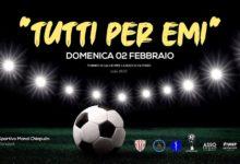 """Barletta – Parte il torneo di calcio per la raccolta fondi: """"Tutti per Emi"""""""