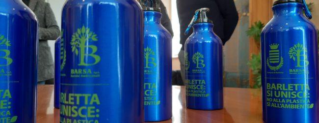 Barletta – 9.000 borracce in alluminio per gli alunni delle scuole primarie e medie