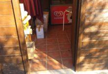 Trani – Furto al Parco di Santa Geffa: portato via materiale utilizzato dai ragazzi. LE FOTO