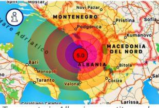 Terremoto in Albania, forte scossa: avvertita anche in Puglia