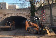 Trani – Lavori in corso: bitumazione e fresature delle strade. VIDEO