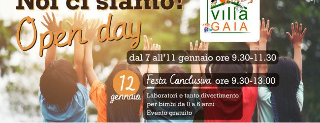"""ANDRIA – Open Day """"Villa Gaia Baby"""": dal 7 al 12 gennaio con attività gratuite per i bambini"""